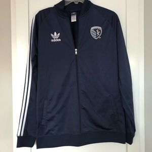 Adidas Sporting Kansas City Navy Track Jacket | XL